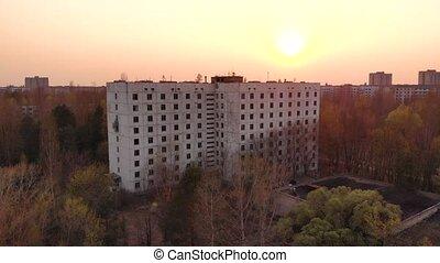 Copenhagen landscape done - Views of the city of Pripyat...