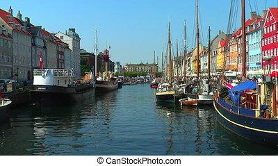 Copenhagen, Nyhavn  - Copenhagen, Nyhavn