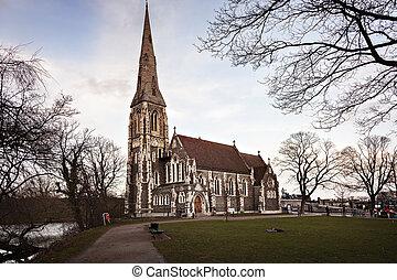 Copenhagen St Albans church