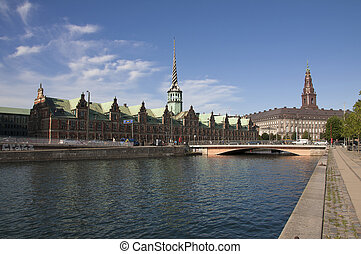 Copenhagen,the Old Stock Exchange
