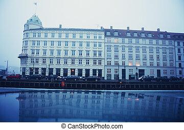 copenhague, nyhavn, danemark