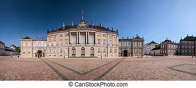 copenhague, palais amalienborg