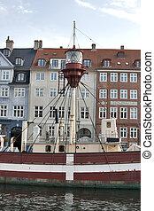 copenhague, phare, bateau