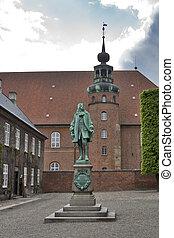 copenhague, statue