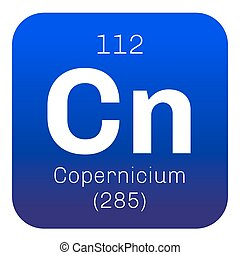 Copernicium chemical element