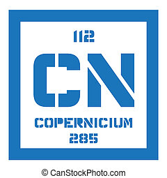 Copernicium chemical element