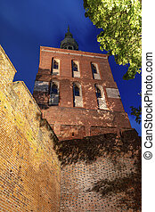 Copernicus Tower in Frombork