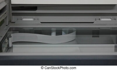 copie, document, photocopieur