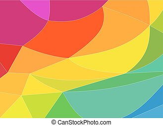 copie, multicolore, fond, espace