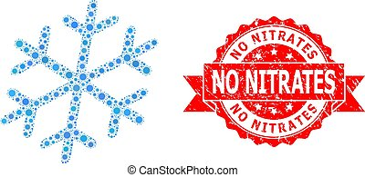 copo de nieve, corona, mosaico, nitrates, no, estampilla, caucho, virus