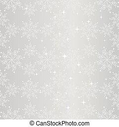 copo de nieve, seamless, patrón