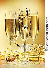 copos champanha