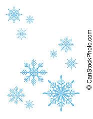 copos de nieve, 4