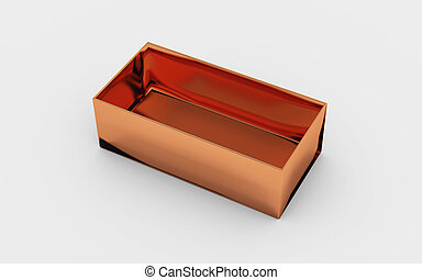 copper box tray view - copper material of rectangle box by...