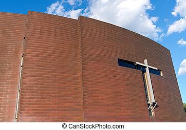 Copper Clad Chapel Exterior