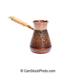 Copper coffee Cezve