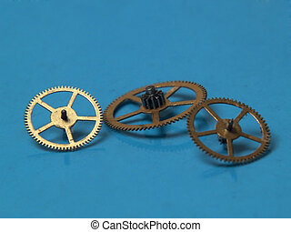 Copper cogwheels