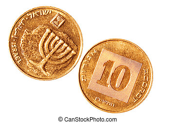 Copper coin of Israel