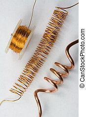 Copper Electrical Wire - Copper electrical wire assortment