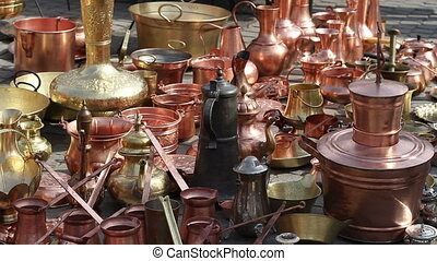 Copper Kettles - Kettles, pots, kettles, dishes, pans of all...