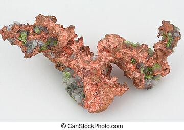 copper - native copper mineral