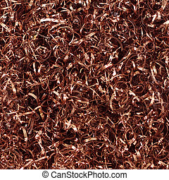 Copper Shavings - Industrial copper shavings make an...