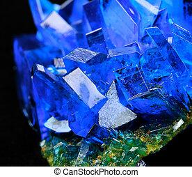 Copper sulfate - Crystals of blue vitriol - Copper sulfate