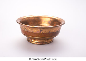 Copper tea cup