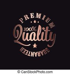 Copper Vector premium quality stamp