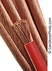 Copper wires, the concept for the energy industry
