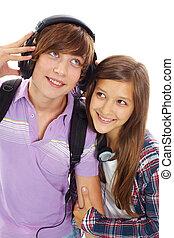 coppia adolescente