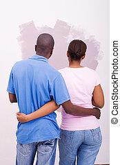 coppia, bricolage, amare