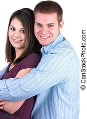 coppia felice