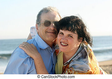coppia, felice