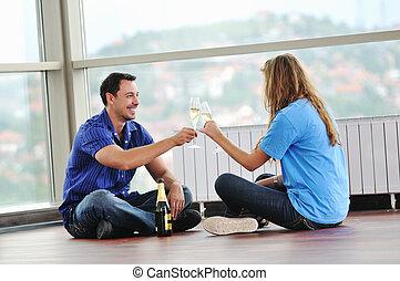 coppia felice, celebrare