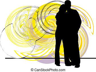 coppia, illustrazione