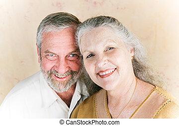 coppia, in, loro, anni sessanta