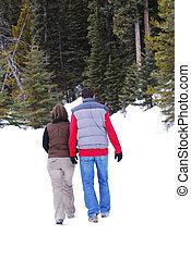 coppia, inverno