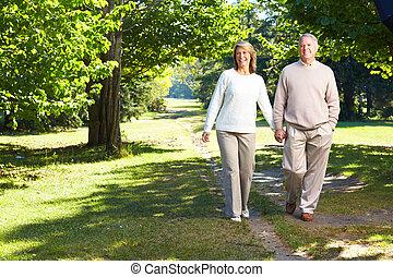 coppia, lderly, seniors