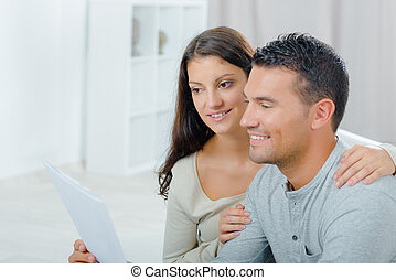 coppia, lettera lettura