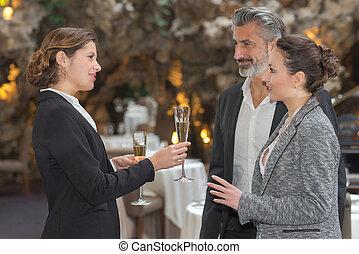 coppia, ristorante