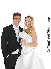coppia, sposato, proposta, Felice
