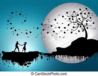 coppie romantico