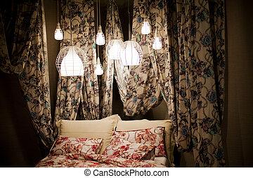 coprire baldacchino letto