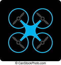 copter, pictogram