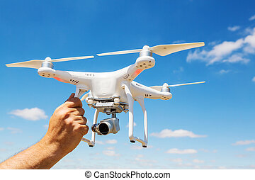Copter - Quadcopter drone flying