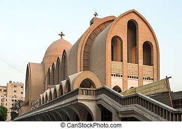 coptic, 大聖堂, st. 。, 印, 正統