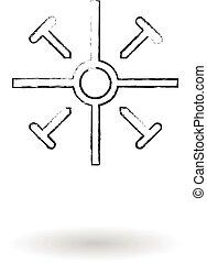 Coptic, 鉛筆, 略述, 產生雜種