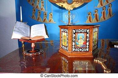 coptic altar