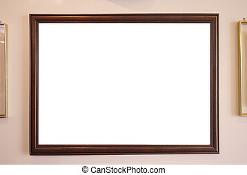 copy space for a picture on a frame - vintage concept